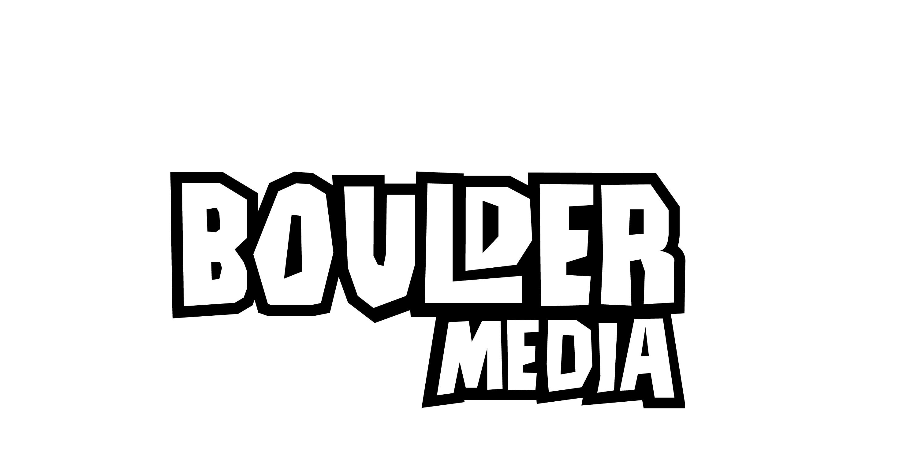 Boulder Media Logo. Client of Huntoffice Interiors