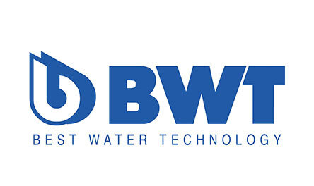 BWT Best Water Technology Logo. Client of Huntoffice Interiors