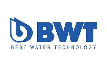 BWT Best Water Technology Logo. Client of Huntoffice Interiors