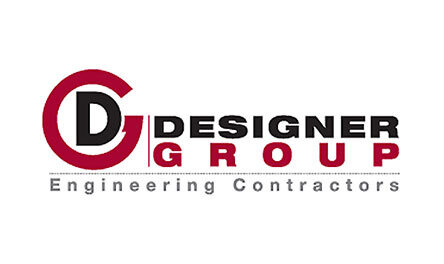 Designer Group Engineering Contractors Logo . Client of Huntoffice Interiors