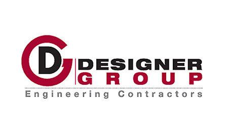 Designer Group Engineering Contractors Logo . Client of Huntoffice Interiors