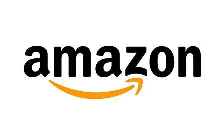 Amazon Logo. Client of Huntoffice Interiors
