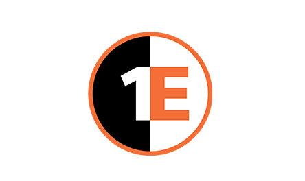 1E Logo. Client of Huntoffice Interiors