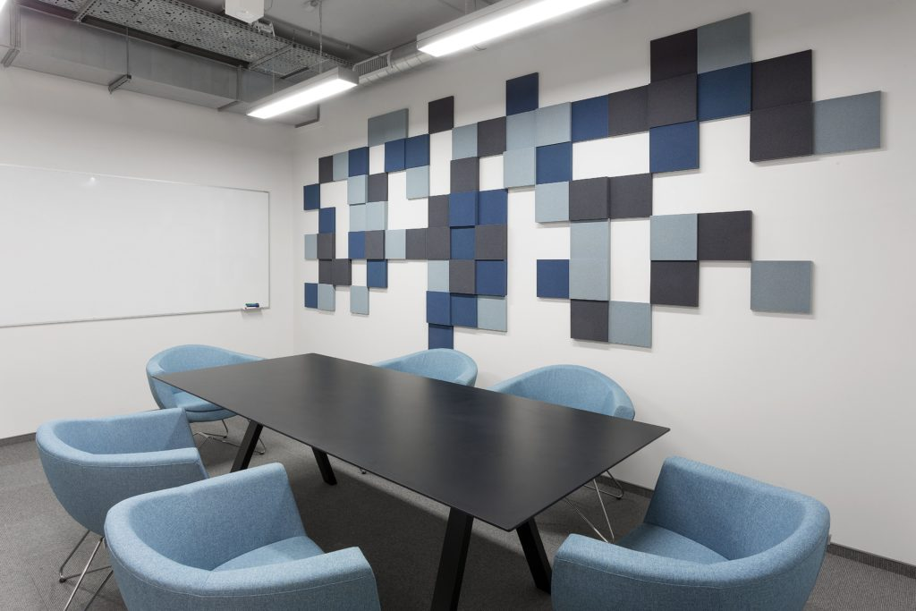 Beautiful, colours are the trade mark of all Fluffo products. Choose from a range of Acoustic Panels via Huntoffice Interiors