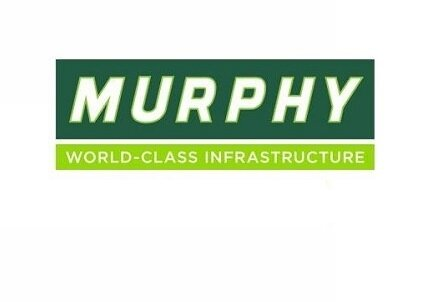 Murphy Logo. World Class Infrastructure. Client of Huntoffice Interiors