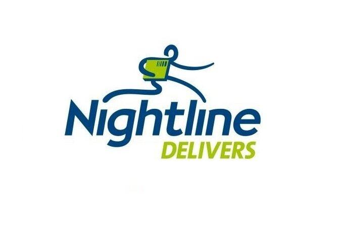 Nightline Logo. Client of Huntoffice Interiors, Dublin