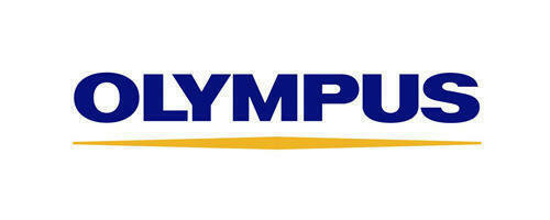 Olympus Logo. Client of Huntoffice Interiors