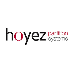Hoyez Partition Systems available at Huntoffice Interiors