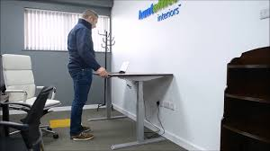 Sit Stand Workstation at Huntoffice Interiors