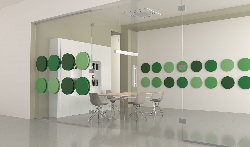 Fluffo Acoustic Glass Panels