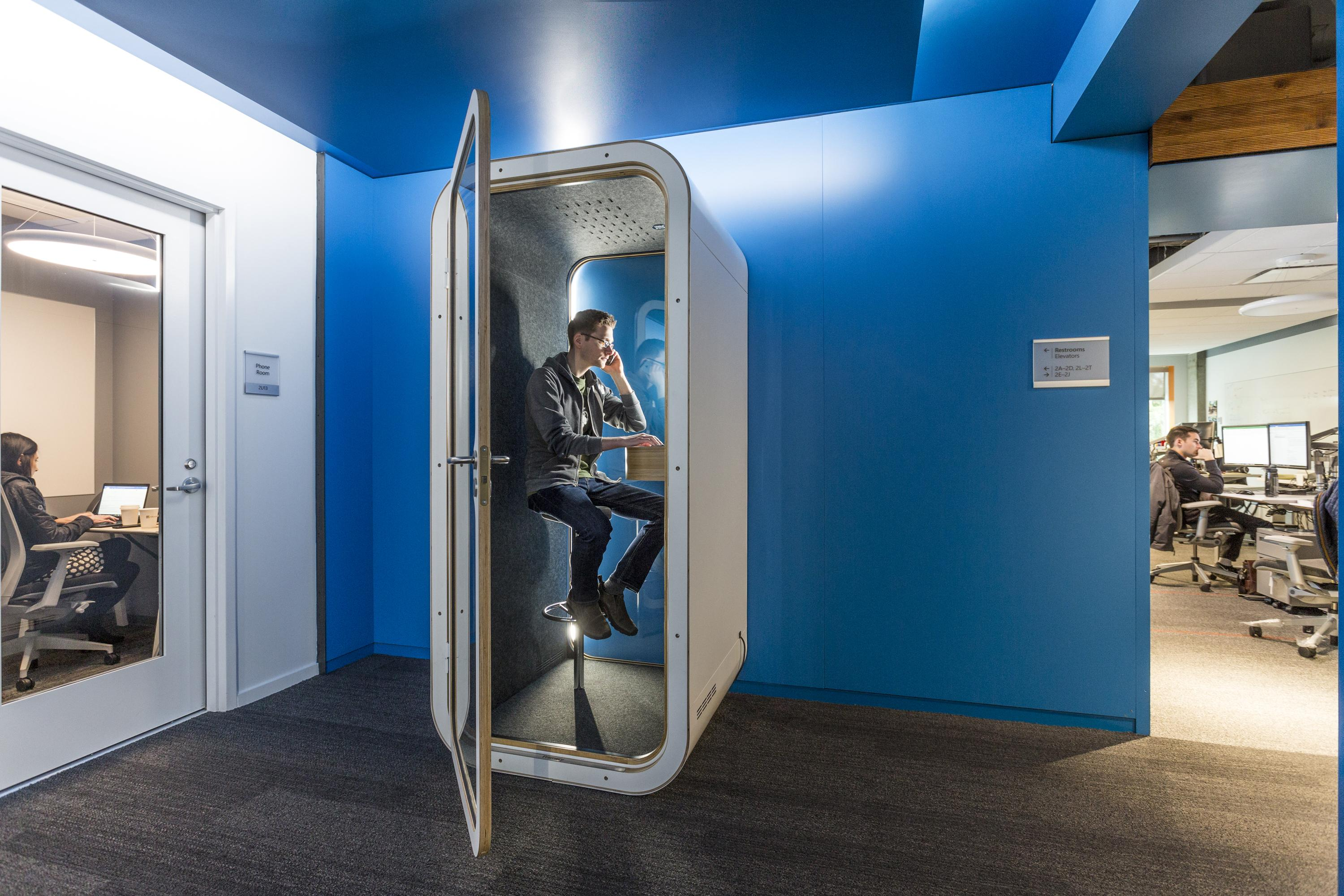 Framery Acoustic Pods at Huntoffice Interiors