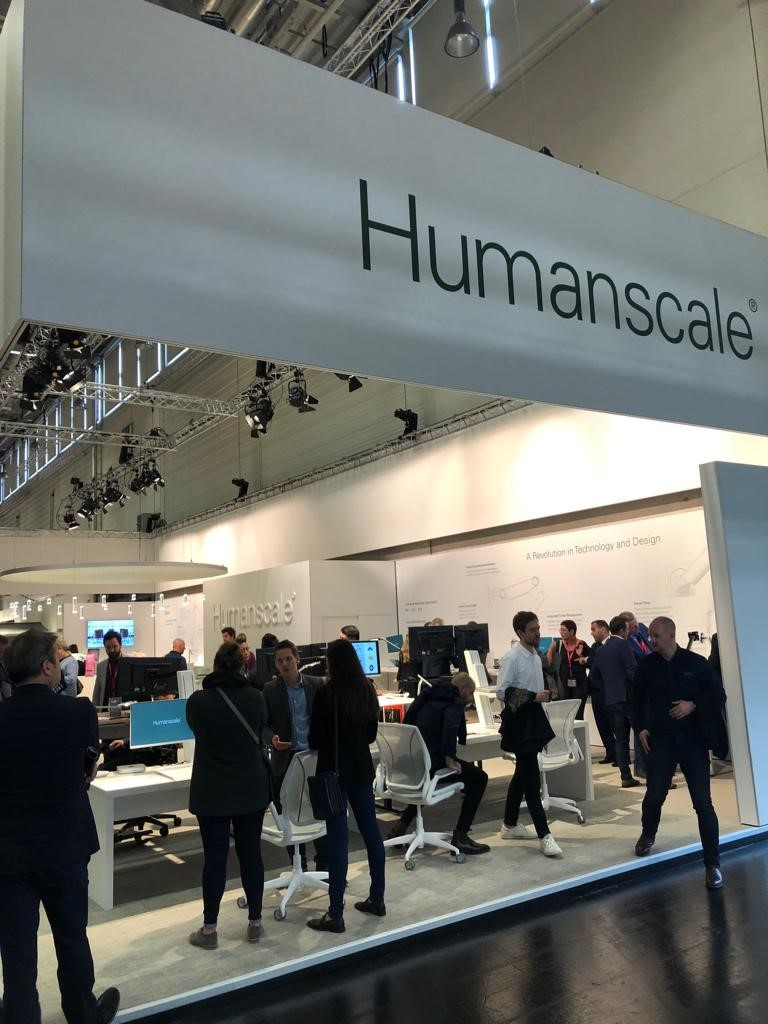 Humanscale at Orgatec