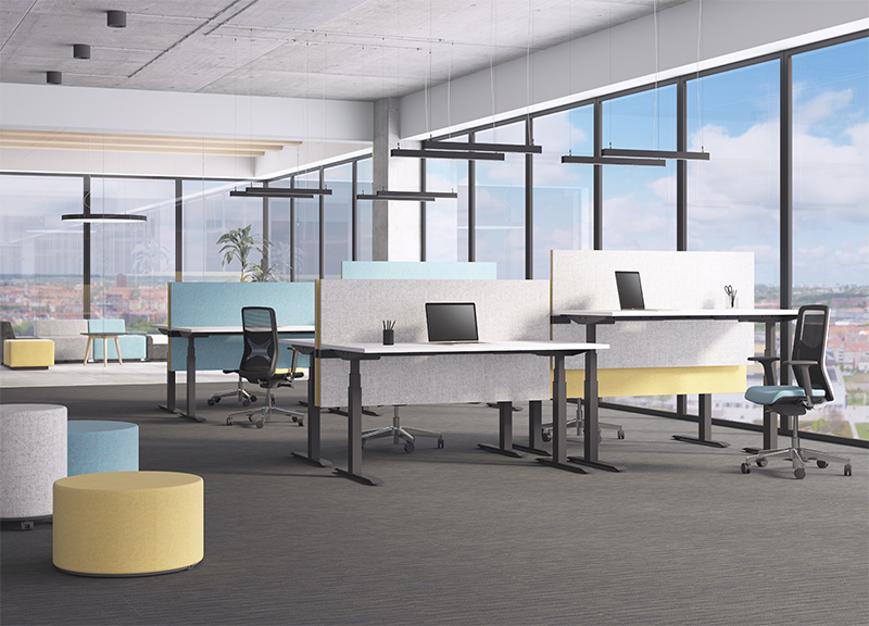 Sit Stand Desks from Narbutas and other suppliers are available from Huntoffice Interiors