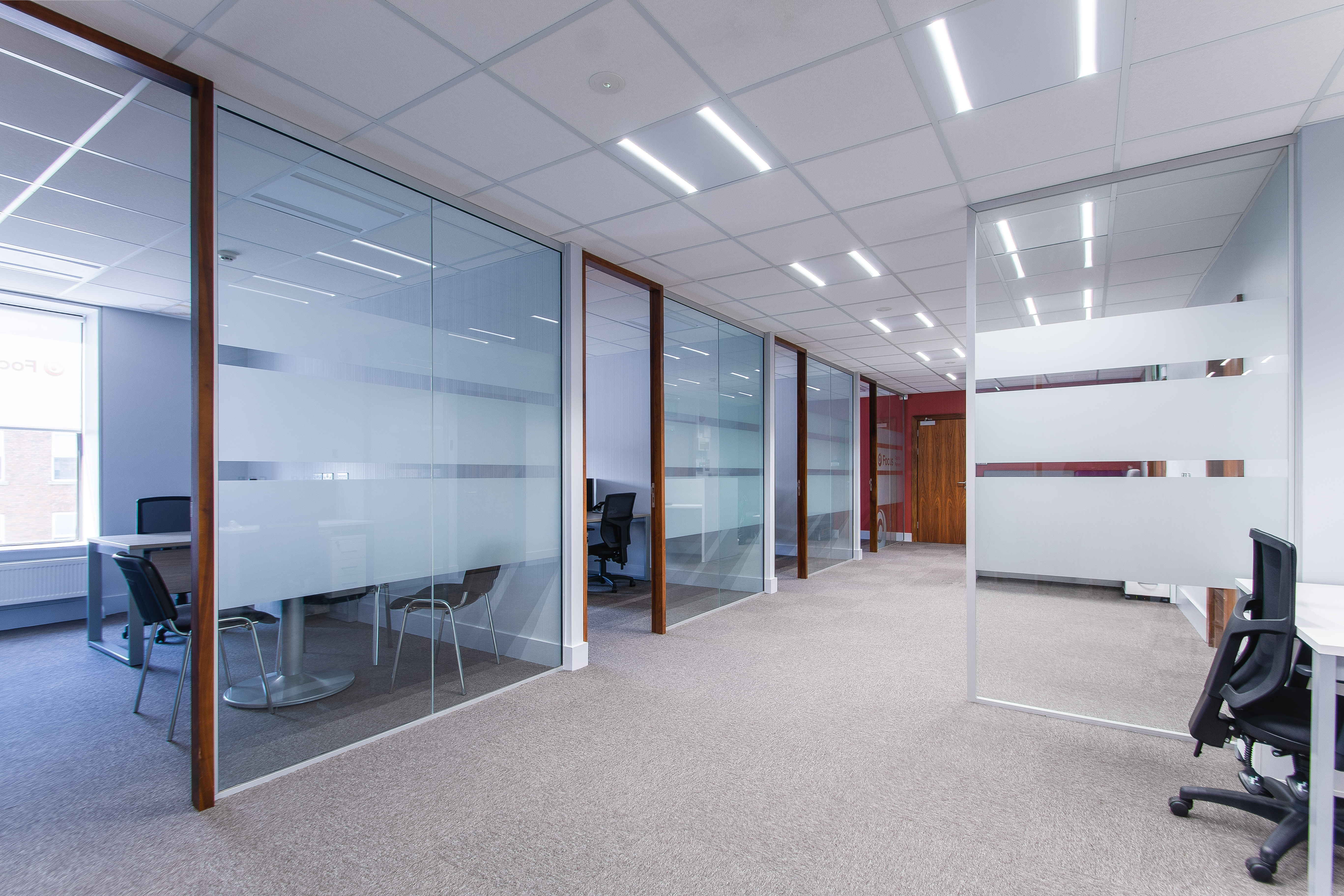 Extensive Fit Out Project for Focus Capital Partners, Dublin by Huntoffice Interiors