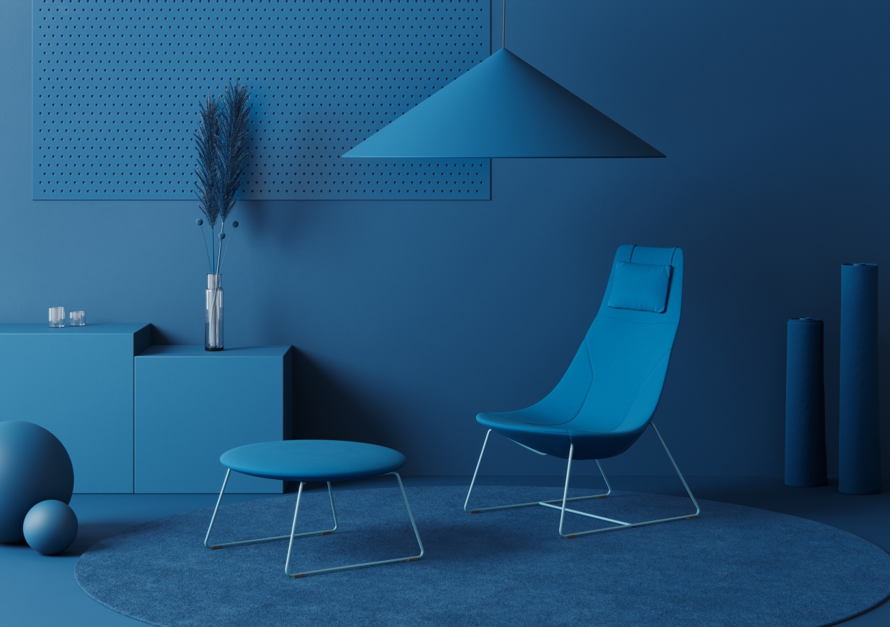 Profim Blue at Orgatec