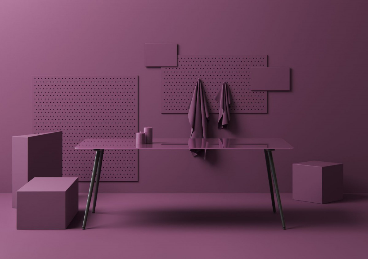 Profim Purple at Orgatec
