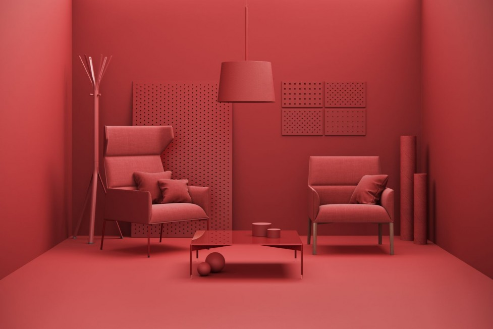 Profim Red at Orgatec