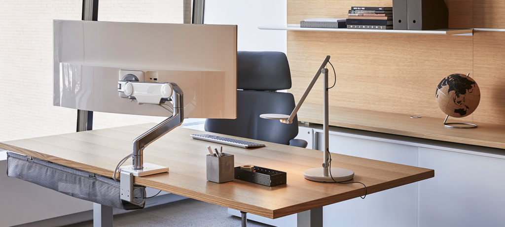 Humanscale Monitor Arms & Integrated Docks
